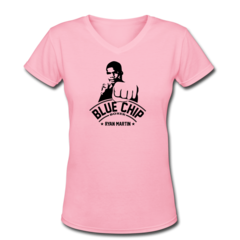 Women's V-Neck T-Shirt by Ryan Martin