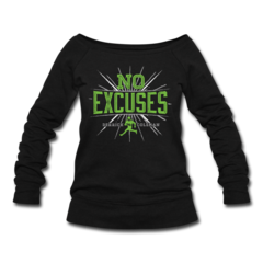 Women's Wideneck Sweatshirt by Derrick Coleman