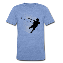 Unisex Tri-Blend T-Shirt by Rob Pannell