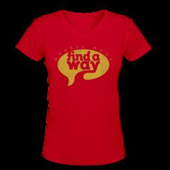 Women's V-Neck T-Shirt by Merril Hoge