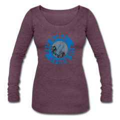 Womens Tri-Blend Long Sleeve T-Shirt