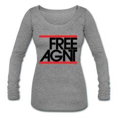 Womens Tri-Blend Long Sleeve T-Shirt